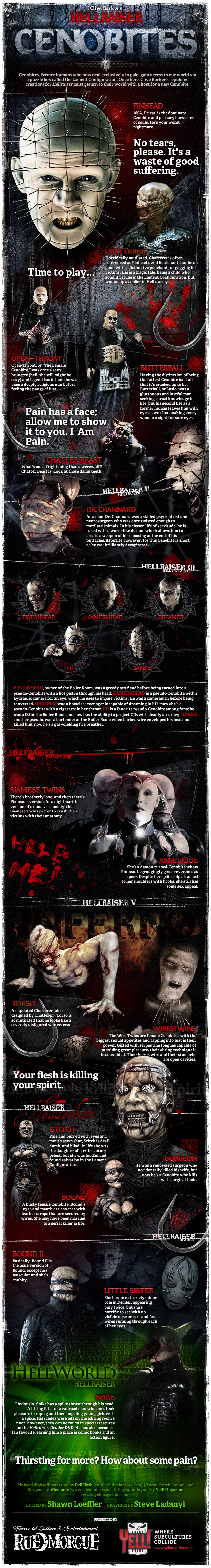 Hellraiser infographic