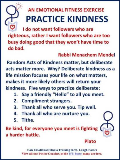 Go Beyond Random Kindness