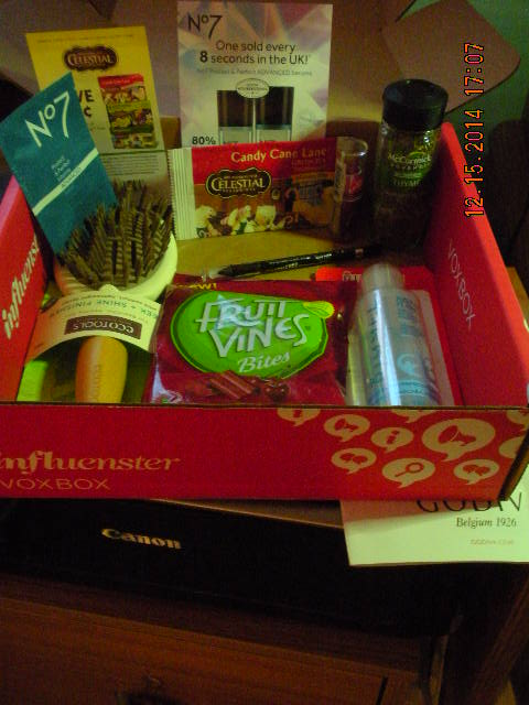 #FrostyVoxbox  compliments of Influenster.com for testing & review