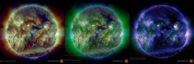 SDO Sun Images