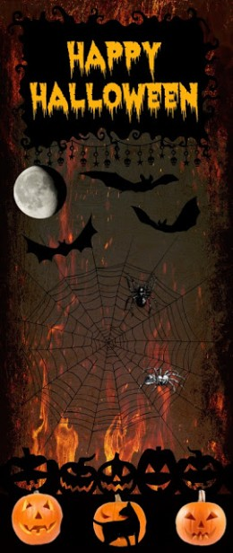 Halloween bookmark web